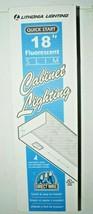 """Lithonia 18"""" Slim Fluorescent White Closet Light NEW - $11.87"""