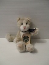 """1999 Boyds Bears Plush 8"""" Jointed Emerson T. Penworthy tan and White Cat... - $13.67"""