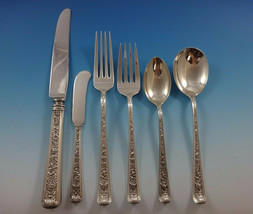 Windsor Rose by Watson Sterling Silver Flatware Set For 8 Service 51 Pieces - $2,495.00