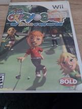 Nintendo Wii Kidz Sports: Crazy Golf ~ COMPLETE image 1