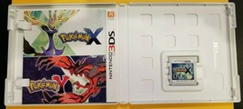 Pokemon X Nintendo 3DS, 2013 Game Cartridge in case with color insert EX... - $24.70