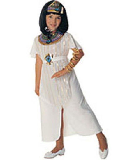 Primary image for Cleopatra Halloween Costume Size 5-7 Years Old
