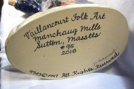 Vaillancourt Folk Art, Blue Father Christmas Lg Window Display signed by Judi image 7