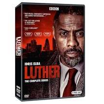 Luther Complete Series Season 1 2 3 4 5 Collection BBC DVD Idris Elba 1-... - $34.95
