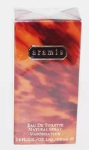 WONDERFUL ARAMIS MENS 3.4 FL OZ/100 ML EAU DE TOILETTE SPRAY SEALED IN BOX - $37.86