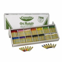 Crayola Oil Pastels Classpack, 12 Brilliant Opaque Colors, School Suppli... - $43.55