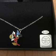 Disney Swarovski Pendentif Sorcier Mickey D23 Expo Japon 2015 Limitée Neuf Ems - $454.91