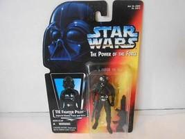 Star Wars Pouvoir de la Force Tie Fighter Pilote #69673 Scellé Figurine H10 - $4.40