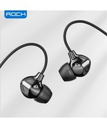 Rock Luxury In Ear Stereo Earphones 3.5mm Headset Headphone Earbuds With Mic - $23.04