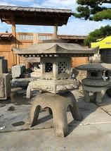 Kaku Yukimi Gata Ishidōrō, Japanese Stone Lantern - YO01010093 - $3,974.50