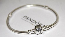 Brand New Sterling Silver Pandora Bracelet with Barrel Clasp - $45.00