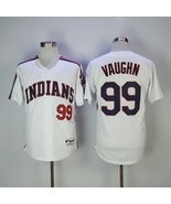 Ricky Vaughn #99 White Cleveland Indians Major League Movie Jersey - $35.99+