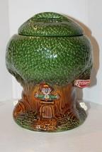 Vintage 1980's Keebler Elf Tree House Ceramic Cookie Jar - $29.95