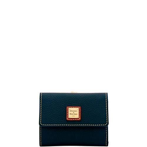 Dooney & Bourke Pebble Grain Framed Credit Card Wallet