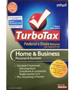 TurboTax Home & Business, Personal & Business, Federal & State, NEW, 2010 - $75.00