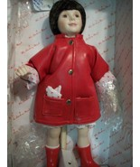 "SPECIAL DANBURY MINT DOLL ""APRIL SHOWERS"" PRECIOUS CHILDHOOD MOMENTS MINT IN BOX - $25.74"