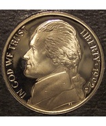 1992-S DCAM Proof Jefferson Nickel PF65 #0249 - $3.59