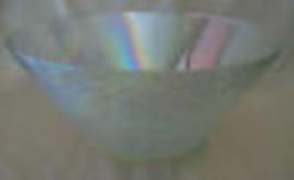 """VINTAGE HUGE 11.25"""" RAINBOW IRIDESCENT SALAD BOWL, VINTAGE GLASS - $247.49"""