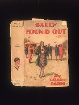 "1930 ""Sally Found Out"" by Lilian Garis frame-ready dust jacket (no book)"
