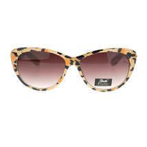 Giselle Womens Color Leopard Animal Print Mod Retro Chic Cat Eye Sunglasses - $10.95