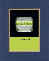 Motivational Poems - Balance. . . 8 x 10 Inches Biblical/Religious Verse... - $11.14