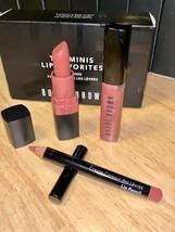 Bobbi Brown The Minis Lip 3 Piece Favorites Brand New In Box - $18.80