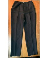 Ann Taylor Loft Women's 100% Silk Career Pants - Size 2, Black, NWT - $29.99
