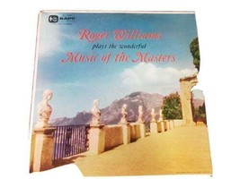 Roger Williams plays the wonderful Music of the Masters 1956 Used Vinyl Record image 1