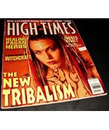 HIGH TIMES MAGAZINE Oct 1993 History of Witchcraft NEW TRIBALISM Pagan H... - $14.99