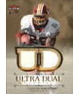 2007 Ultra Dual Materials Gold #CP Clinton Portis Jersey /99 - $7.90