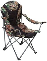 Ming's Mark 36030 Foldable Reclining Camp Chair - Black / Camo - $59.76