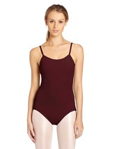 Capezio Women's Camisole Leotard With Adjustable Straps, Burgundy, X-Small - $13.09