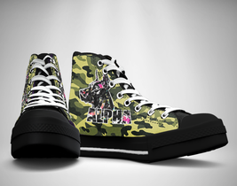 Camo Wild Hunter  Canvas Sneakers Shoes - $49.99
