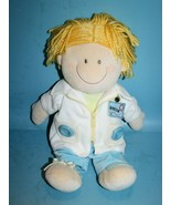"""Russ Berrie DOC Baby Doll 15"""" Doctor Plush Soft Toy Teach Button Zip Tie... - $21.28"""