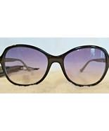CANDIE'S Women's OVERSIZE Sunglasses Black & Green Frame w/ Gray Lens PO... - $19.79