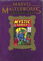 Marvel Masterworks Golden Age Mystic Comics 154 HC Variant 2011 NM Seale... - $117.78