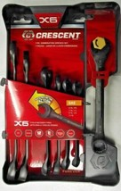 Crescent CX6RWS7 7pc X6 Ratcheting Open-End & Static Box-End Combination... - $17.82