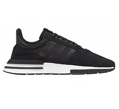 Adidas Originals ZX 500 RM Boost Core Black Lifestyle Sneakers B42227 - $82.95