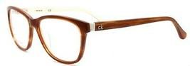 Calvin Klein CK5841 313 Women's Eyeglasses Frames 54-16-135 Havana / White - $54.25