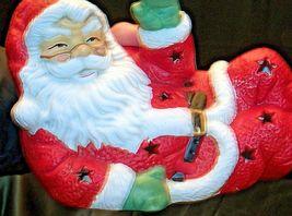 Santa Candle Holder AA20-2123 Vintage image 3