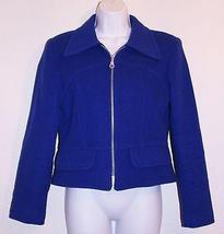 LEE LIPTON Vintage Jacket Coat Women's Size Small Blue Color - $14.99