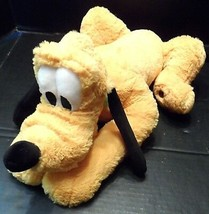 "Disney Plush Pluto 17"" Stuffed Animal Dog Disneyland Cartoon Plushie Stu... - $7.75"