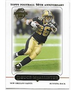 2005 Topps First Edition#57 Deuce Mcallister Nm附近的Mint Saints  -  $ 0.75