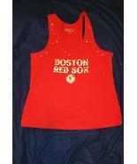 Boston Red Sox womans tee shirt no sleeves XL - $15.00