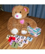 Baby Number Tiles, Handmade, Plastic Canvas, Shower Gift, Baby Toy, Colors - $22.00