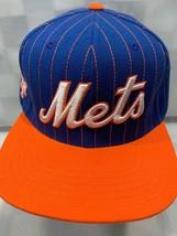 New York Mets Baseball Gessato Blu Arancione American Needle Snapback Ad... - €19,17 EUR