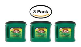 PACK OF 3 - Folgers Mountain Grown Classic Decaf Medium Decaffeinated Gr... - $55.84