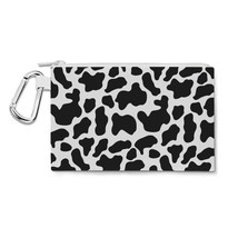 Woody Cowhide Canvas Zip Pouch - $14.99+