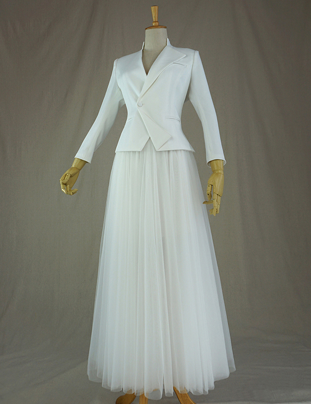 Wedding outfit white 1