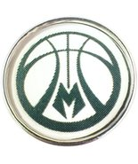 Fashion Snap Jewelry NBA Basketball Milwaukee Bucks Ball 18MM - 20MM Sna... - $5.83
